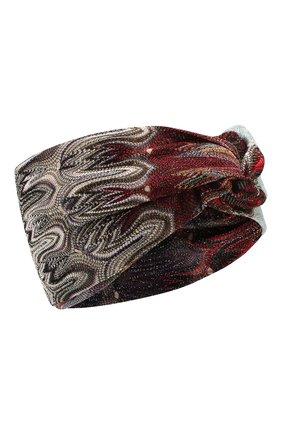 Женская повязка на голову MISSONI разноцветного цвета, арт. MDS00114/BR007X | Фото 1