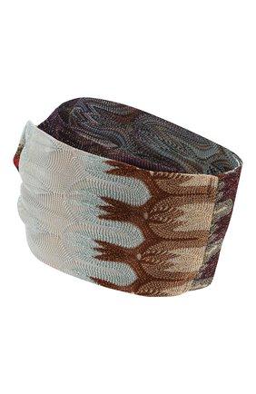 Женская повязка на голову MISSONI разноцветного цвета, арт. MDS00114/BR007X | Фото 2