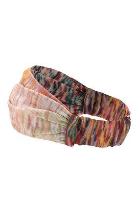 Женская повязка на голову MISSONI разноцветного цвета, арт. MDS00226/BR006D | Фото 2