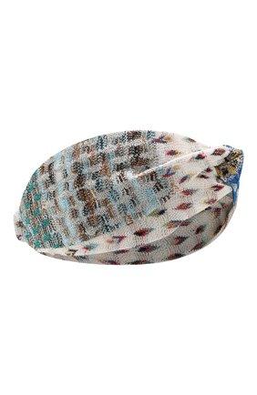 Женская повязка на голову MISSONI разноцветного цвета, арт. MMS00003/BR0080 | Фото 1