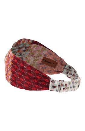 Женская повязка на голову MISSONI разноцветного цвета, арт. MMS00003/BR0080 | Фото 2