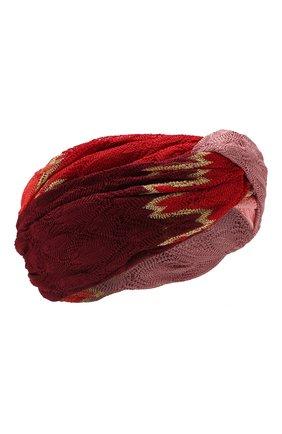 Женская повязка на голову MISSONI разноцветного цвета, арт. MMS00020/BR0085 | Фото 1
