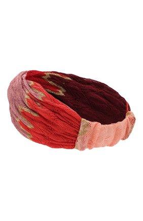 Женская повязка на голову MISSONI разноцветного цвета, арт. MMS00020/BR0085 | Фото 2