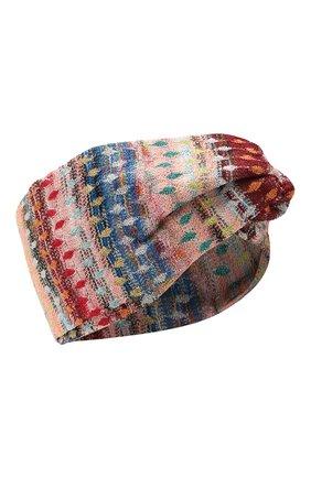 Женская повязка на голову MISSONI разноцветного цвета, арт. MMS00036/BR0088 | Фото 1