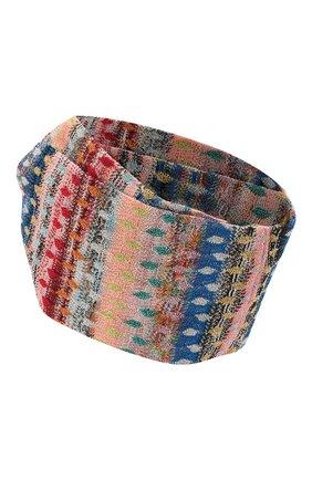 Женская повязка на голову MISSONI разноцветного цвета, арт. MMS00036/BR0088 | Фото 2