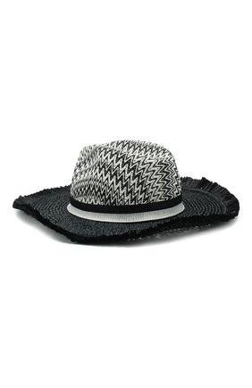 Женская шляпа MISSONI черно-белого цвета, арт. MMS00039/BV004W | Фото 2