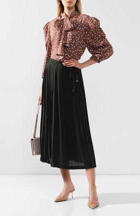 Женское блузка-боди ULYANA SERGEENKO коричневого цвета, арт. 0701т19 (CMA001FW19P) | Фото 2