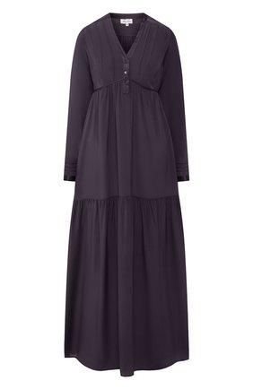 Женские шелковое платье MARJOLAINE темно-серого цвета, арт. 3IND3003_0019 | Фото 1