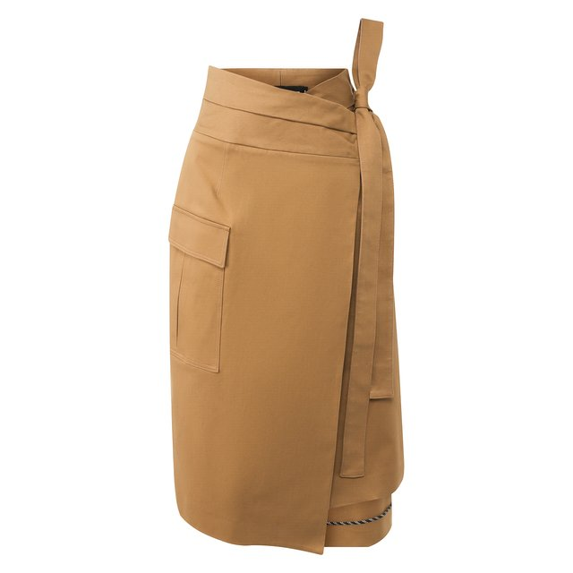 Хлопковая юбка Oscar de la Renta
