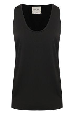Женская топ FORTE_FORTE черного цвета, арт. 7051 | Фото 1