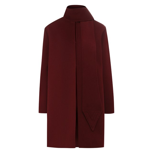 Шерстяное пальто Valentino