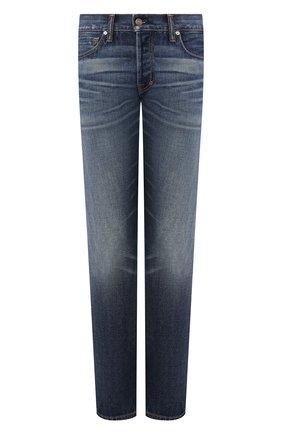 Мужские джинсы TOM FORD синего цвета, арт. BIJ11TFD002 | Фото 1