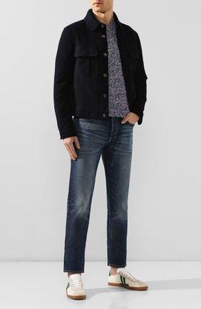 Мужские джинсы TOM FORD синего цвета, арт. BIJ11TFD002 | Фото 2