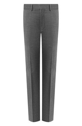 Мужской шерстяные брюки RALPH LAUREN серого цвета, арт. 798727752 | Фото 1