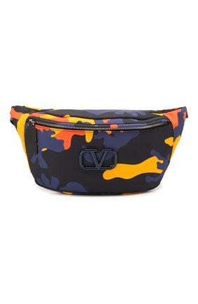 Текстильная поясная сумка Valentino Garavani   Фото №1
