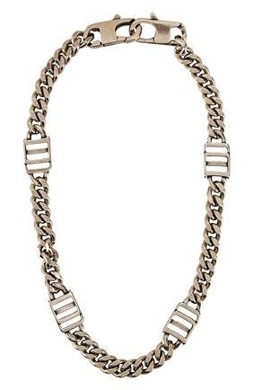 Мужского цепь DSQUARED2 серебряного цвета, арт. CHM0047/37200001 | Фото 1
