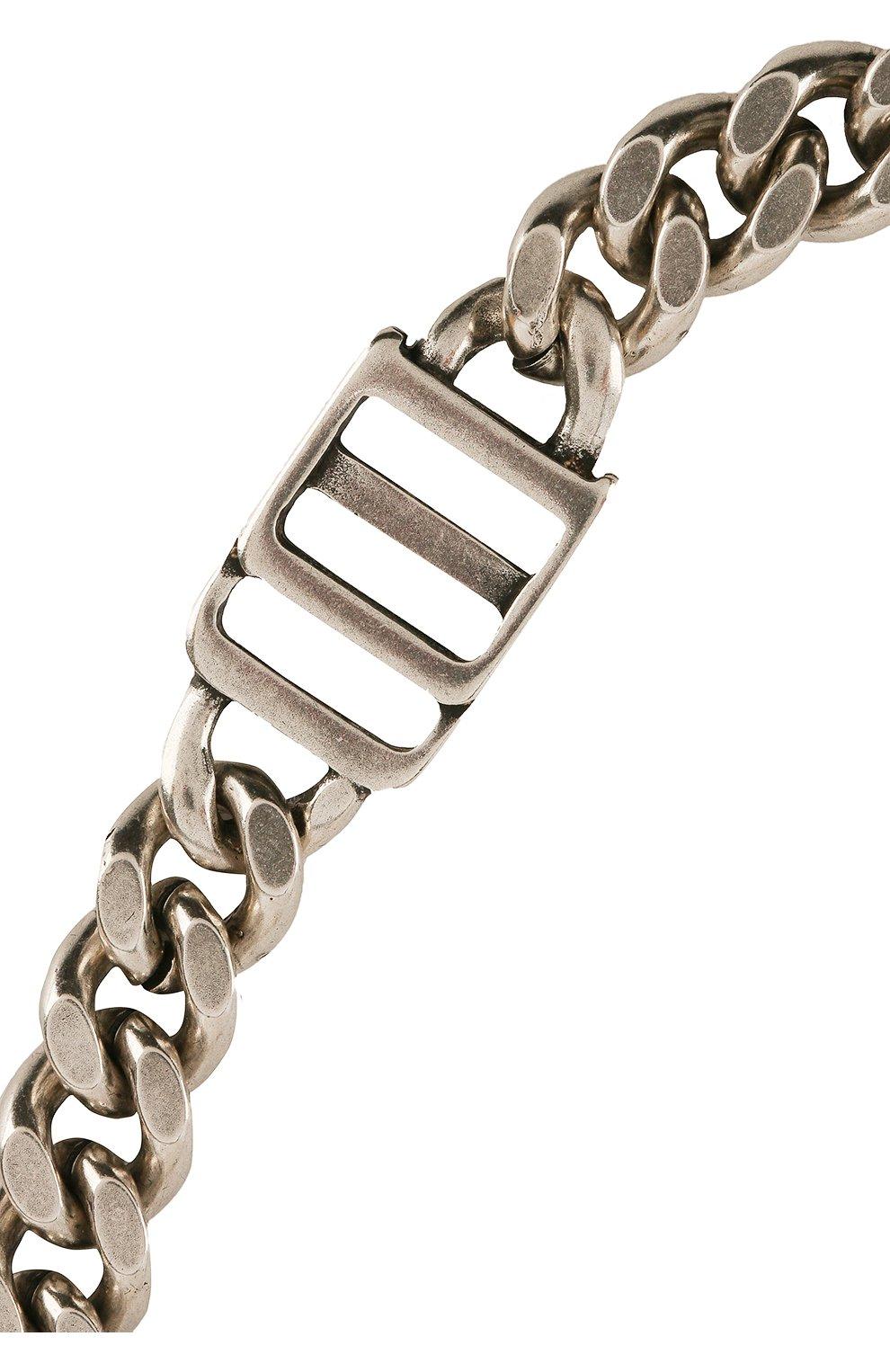 Мужского цепь DSQUARED2 серебряного цвета, арт. CHM0047/37200001 | Фото 2