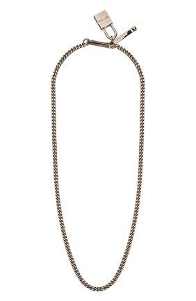 Мужского цепь DSQUARED2 серебряного цвета, арт. CHM0052/37200001 | Фото 1
