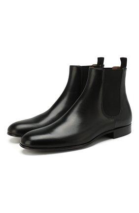 Мужские кожаные челси GIANVITO ROSSI черного цвета, арт. U70350.20CU0.T0RNER0 | Фото 1
