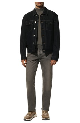 Мужские джинсы TOM FORD серого цвета, арт. BUJ04/TFD002 | Фото 2