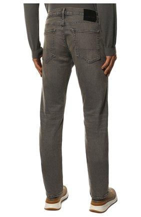 Мужские джинсы TOM FORD серого цвета, арт. BUJ04/TFD002 | Фото 4 (Силуэт М (брюки): Прямые; Длина (брюки, джинсы): Стандартные; Материал внешний: Хлопок)