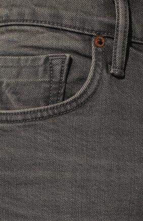 Мужские джинсы TOM FORD серого цвета, арт. BUJ04/TFD002 | Фото 5 (Силуэт М (брюки): Прямые; Длина (брюки, джинсы): Стандартные; Материал внешний: Хлопок)