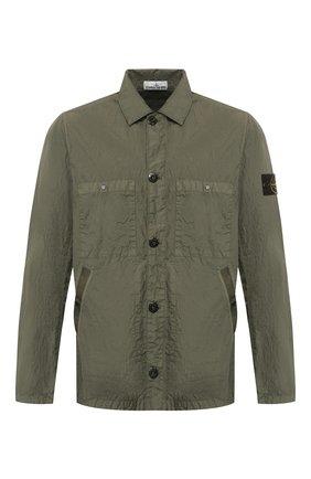Мужская куртка STONE ISLAND хаки цвета, арт. 721544229 | Фото 1