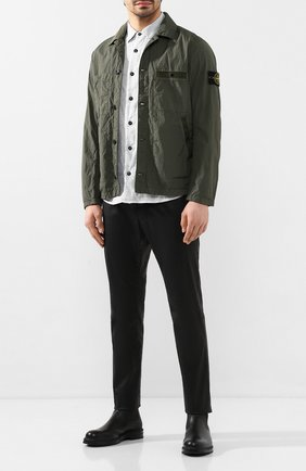 Мужская куртка STONE ISLAND хаки цвета, арт. 721544229 | Фото 2