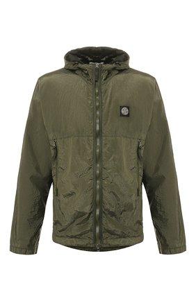 Мужская куртка STONE ISLAND хаки цвета, арт. 721544135 | Фото 1
