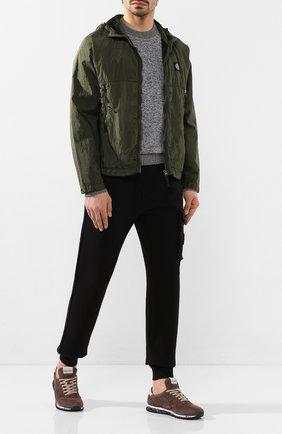 Мужская куртка STONE ISLAND хаки цвета, арт. 721544135 | Фото 2