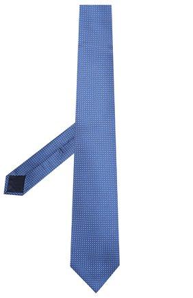 Мужской шелковый галстук ZILLI темно-синего цвета, арт. 50503/TIES | Фото 2