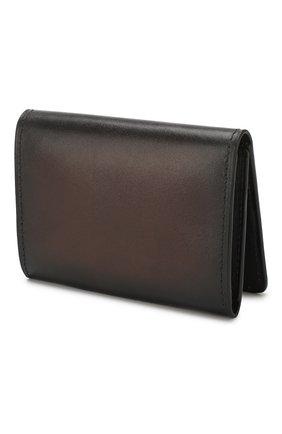 Мужской кожаный футляр для кредитных карт BERLUTI коричневого цвета, арт. N196471 | Фото 2