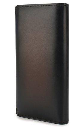 Мужская кожаный футляр для документов BERLUTI темно-синего цвета, арт. N196470 | Фото 2