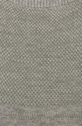 Мужские хлопковые подследники PANTHERELLA серого цвета, арт. 3000F | Фото 2 (Материал внешний: Синтетический материал, Хлопок; Кросс-КТ: бельё)