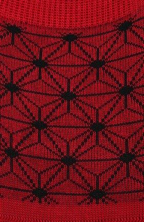 Мужские хлопковые подследники PANTHERELLA красного цвета, арт. 3020F | Фото 2