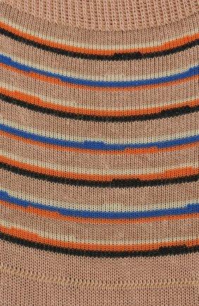 Мужские хлопковые подследники PANTHERELLA бежевого цвета, арт. 3021F | Фото 2