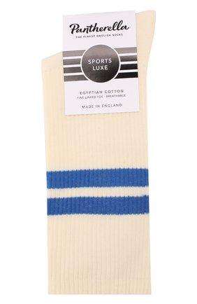 Мужские носки PANTHERELLA кремвого цвета, арт. 6000S | Фото 1 (Материал внешний: Хлопок; Кросс-КТ: бельё)