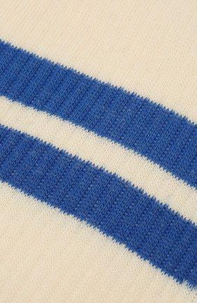 Мужские носки PANTHERELLA кремвого цвета, арт. 6000S | Фото 2 (Материал внешний: Хлопок; Кросс-КТ: бельё)