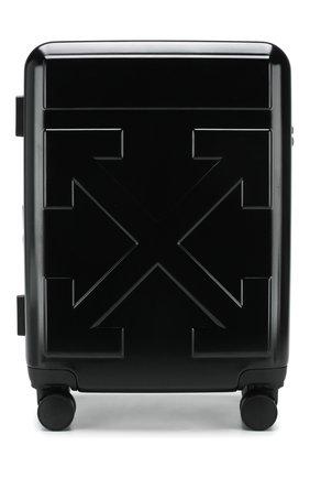 Мужской дорожный чемодан OFF-WHITE черного цвета, арт. 0MNG005R20F610231010 | Фото 1