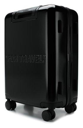 Мужской дорожный чемодан OFF-WHITE черного цвета, арт. 0MNG005R20F610231010 | Фото 2