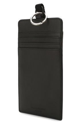 Мужского кожаный чехол для iphone ALEXANDER MCQUEEN черного цвета, арт. 602153/1SJ3B | Фото 2