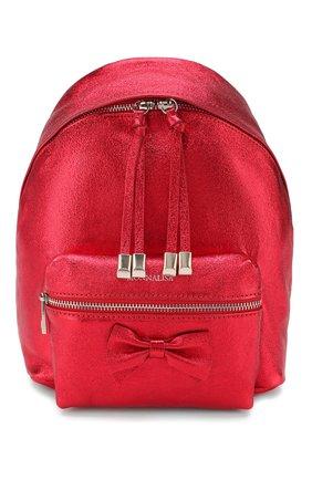 Детская рюкзак MONNALISA красного цвета, арт. 175004 | Фото 1
