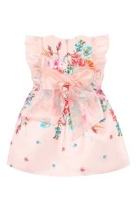 Детское платье EIRENE разноцветного цвета, арт. 202059   Фото 2