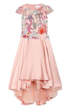 Детское платье EIRENE розового цвета, арт. 202053   Фото 1