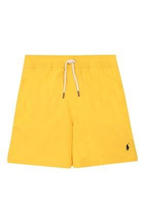 Детские плавки-шорты POLO RALPH LAUREN желтого цвета, арт. 323785582 | Фото 1