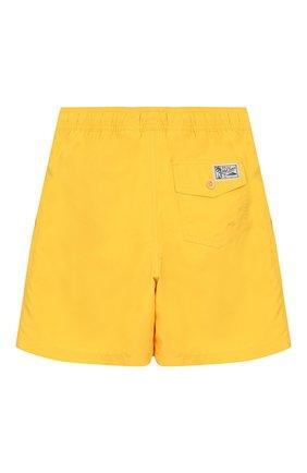 Детские плавки-шорты POLO RALPH LAUREN желтого цвета, арт. 323785582 | Фото 2