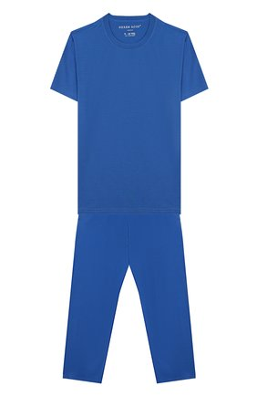 Женская пижама DEREK ROSE голубого цвета, арт. 7251-BASE008/3-12 | Фото 1
