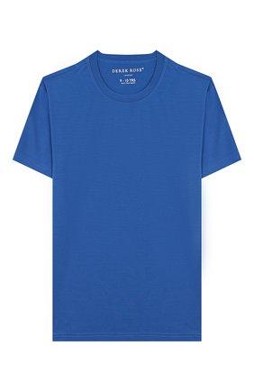 Женская пижама DEREK ROSE голубого цвета, арт. 7251-BASE008/3-12 | Фото 2