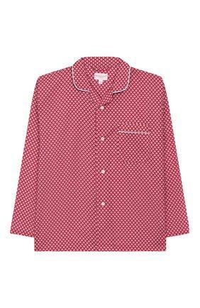 Детская хлопковая пижама DEREK ROSE розового цвета, арт. 7025-LEDB031/3-12 | Фото 2