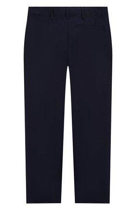 Детские шерстяные брюки BURBERRY темно-синего цвета, арт. 8022414 | Фото 2
